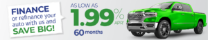 Finance or Refinance Auto with Us and Save! As Low As 1.99% APR 60 Months